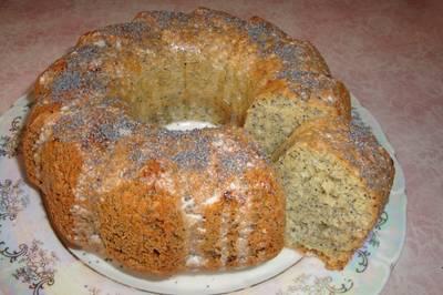 Орехово - маковый кекс