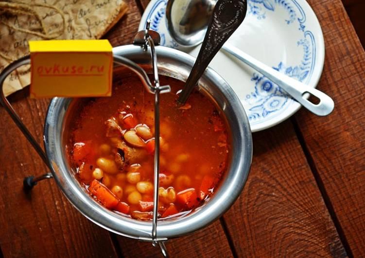 Томатный суп – боб-гуляш