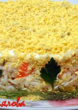 Самый любимый салат с крабовыми палочками Нежность