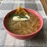 Луковый суп «Bonjourno» #чемпионатмира #франция Веган