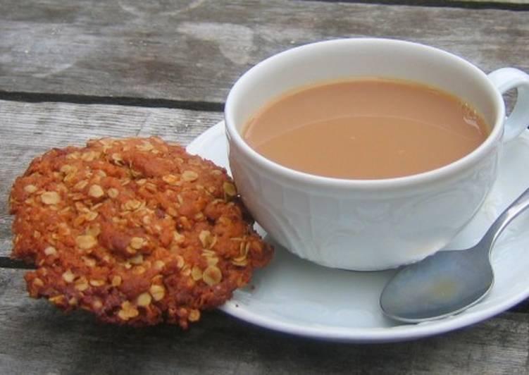 Татарский чай со сметаной, сливками и солью