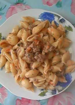 Макароны в соусе