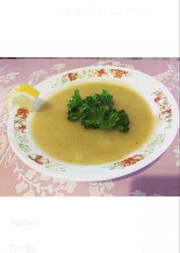 Чечевичный суп-пюре с цветной капустой