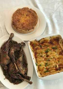 "Французский ужин ""Петух в вине""#чемпионатмира#франция"