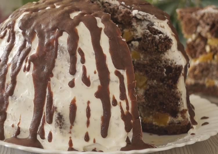 """Торт """"Панчо"""" с ананасами. Безумно вкусно и просто"""