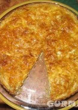 Армянский пирог с мускатным орехом