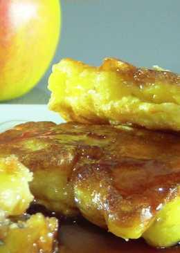 """Оладьи яблочные """"Присканцы"""" - очень вкусно"""