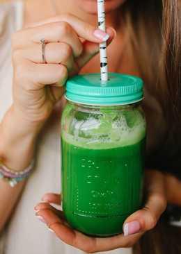 Зеленый detox смузи