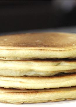 Постные оладьи (pancakes) без молока и яиц
