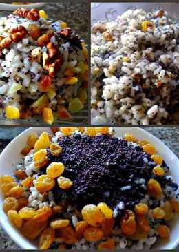 Кутья рождественская из риса - простой и легкий рецепт