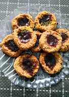 Печенье злаковое с джемом, без муки, диетическое