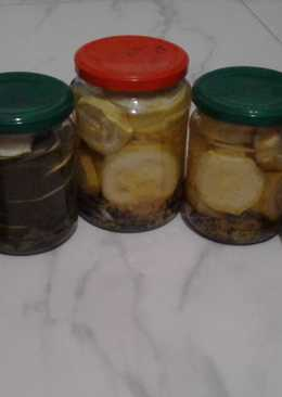 Кабачки консервированные на зиму
