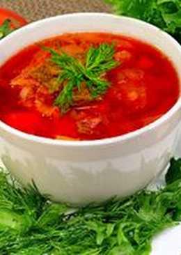 Красный борщ самый вкусный - Рецепт настоящего украинского борща