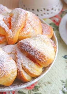 Домашние булочки с тыквенным кремом