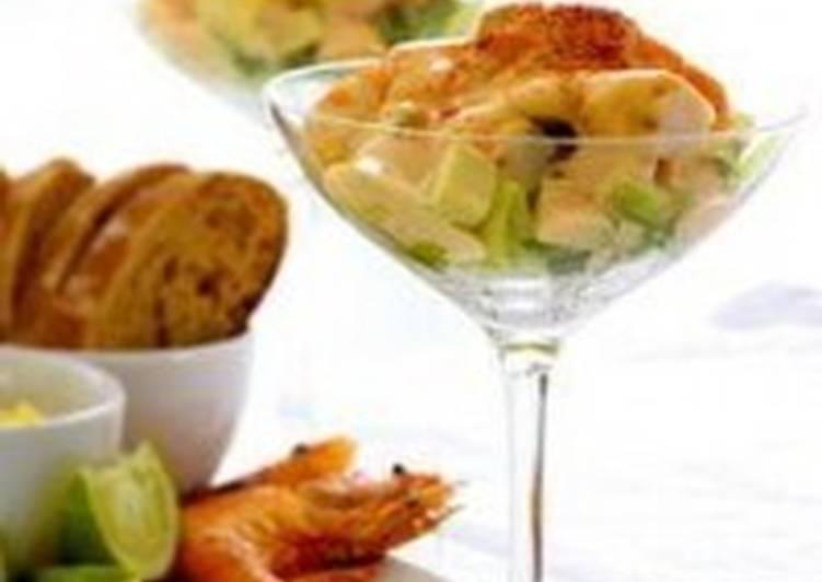 Салат-коктейль по-польски
