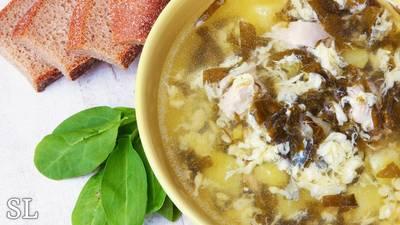 Щавелевый суп. Суп из щавеля (кислятки)