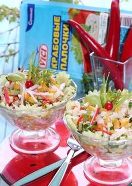 Салат с чили