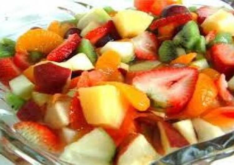 Фруктовый салат рецепт с ok.ru