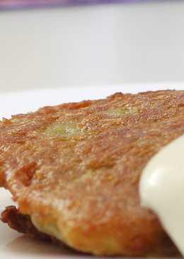 Картофельные блины с мясом (Колдуны)