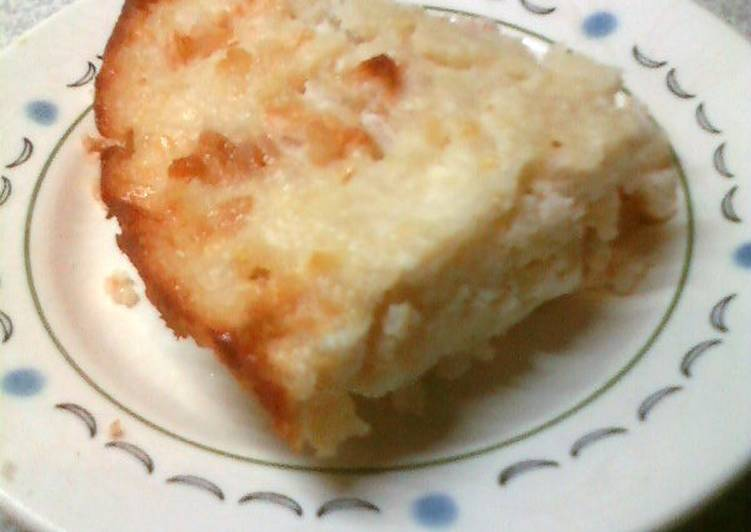 Творожная запеканка с рисом и яблоками