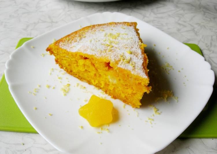 Тыквенный пирог. Самый простой рецепт