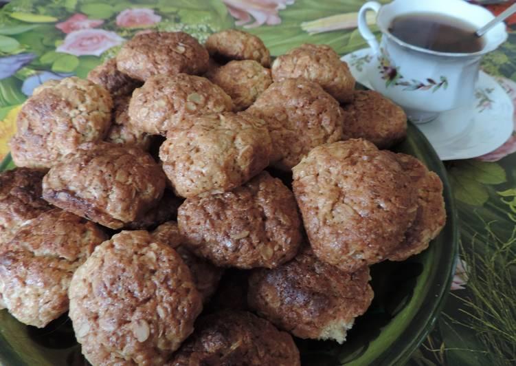 Овсяно-медовое печенье