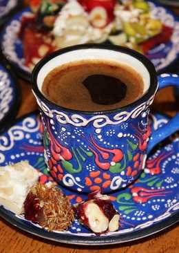 Турецкий кофе. Как приготовить кофе в турке