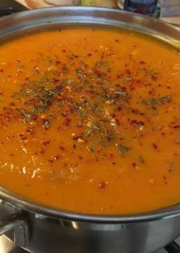 Суп пюре со сладким картофелем