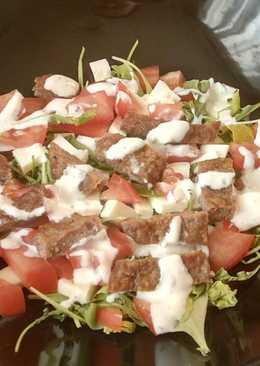 Салат с мясом #кулинарныймарафон