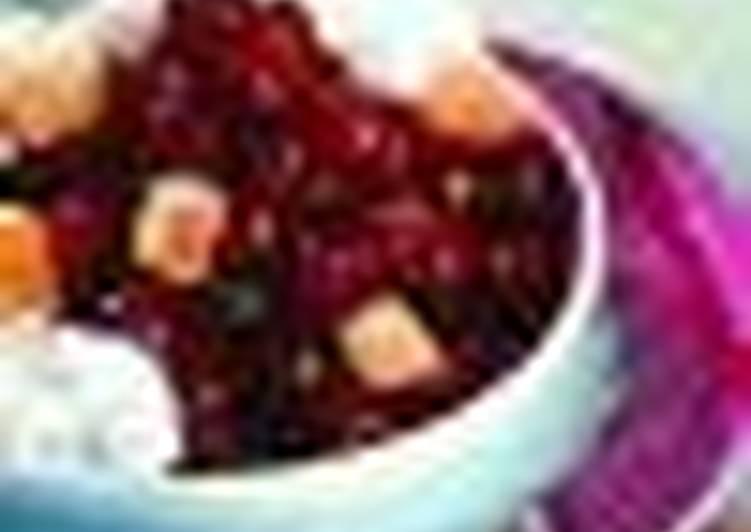 Десертный суп «Зимняя вишня»