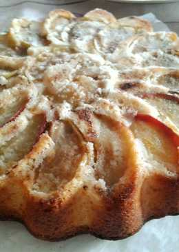 Рождественский яблочный пирог с корицей