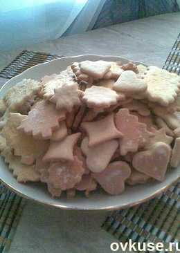 Простое печенье из рассола