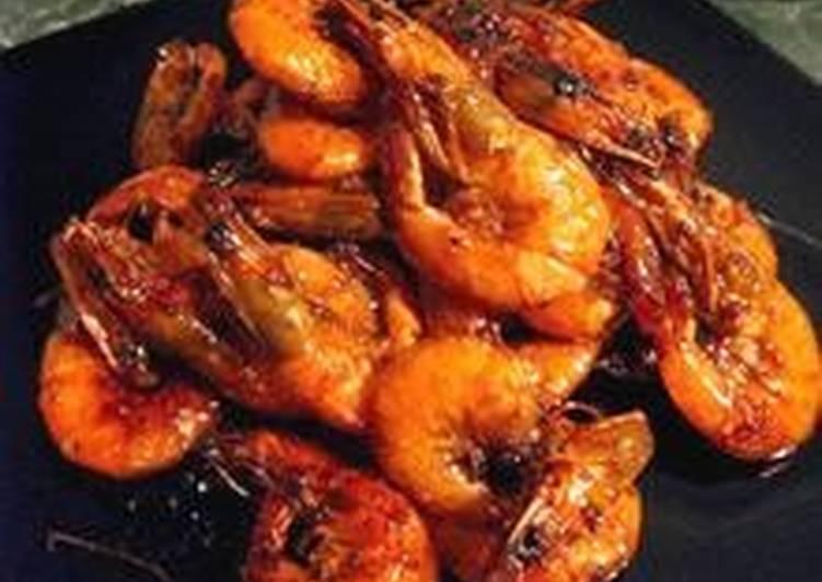 Креветки в панцире рецепт
