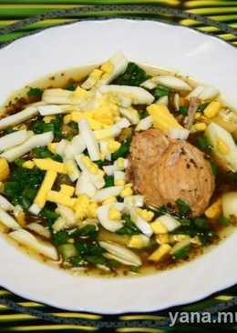 Весенний суп в скороварке