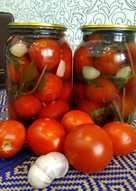 Маринованные помидоры с базиликом #заготовки