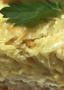Сытная и очень вкусная картофельная запеканка с мясом