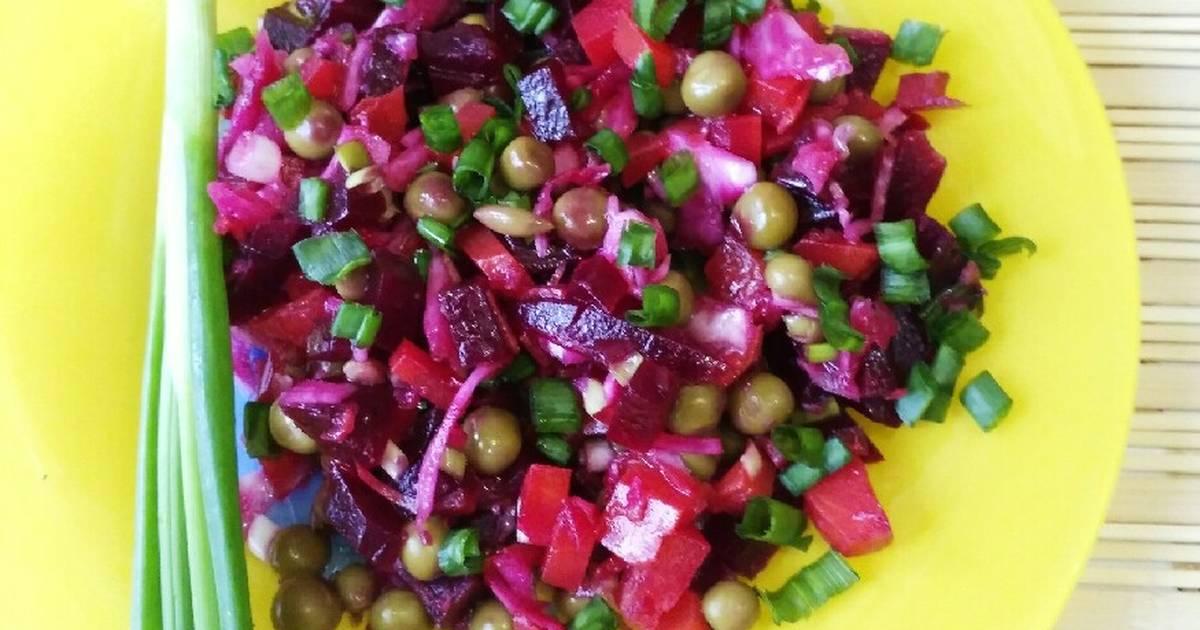 Диетический Винегрет Для Похудения С Фото. Винегрет без картошки – 3 диетических рецепта салата для похудения