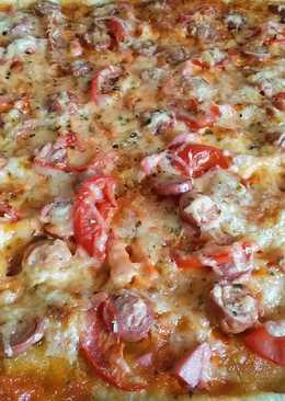 Быстрая пицца #кулинарный марафон