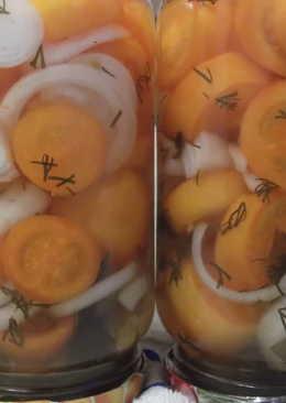 Помидоры в желе с луком на зиму