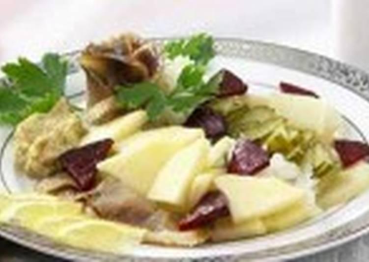 Салат с сельдью (4)
