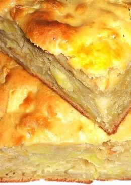 """Пышный яблочный пирог или """"Шарлотка"""" из Одессы"""
