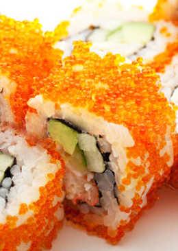 Суши-ролл Калифорния в домашних условиях рецепт