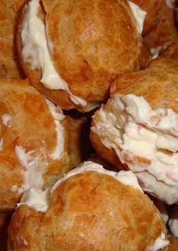 Заварные французские сырные булочки Гужеры