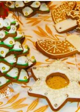 Рождественские медовые пряники