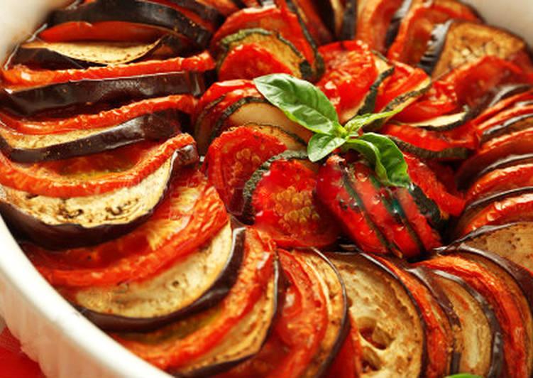 Запеченные овощи по-французски на Новый год