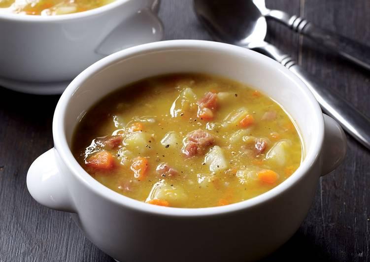 Быстрый гороховый суп - Вкусно, сытно и недорого