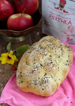 Пшенично-кукурузный хлеб на ряженке с пряностями