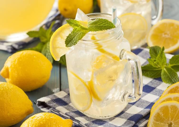 лучший стол напиток на Лимонад праздничный рецепт вкусный