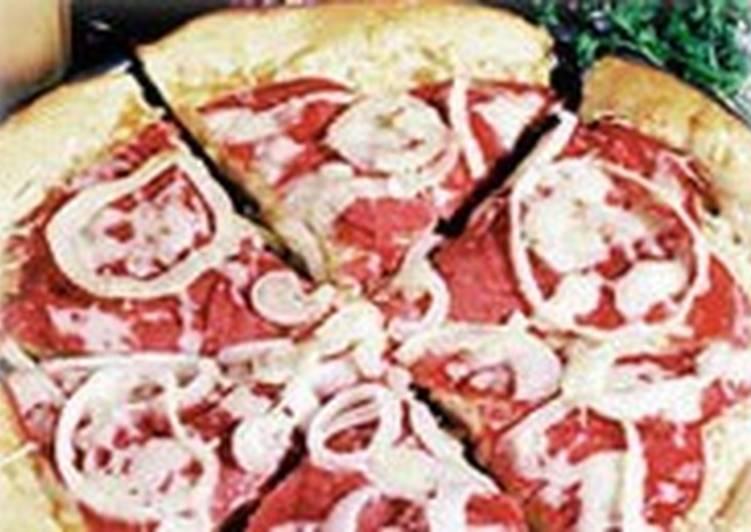 Пицца с говядиной и капустой «Рувим»