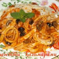 Спагетти с кальмарами #чемпионат мира #бразилия